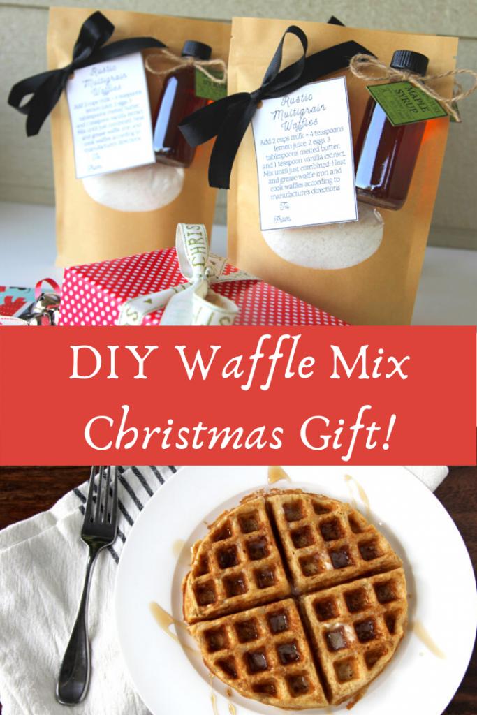 DIY Christmas Gift: Rustic Multigrain Waffle Mix