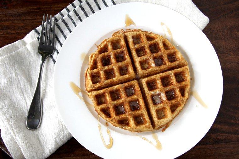Finished Rustic Multigrain Waffle