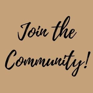 join the community button