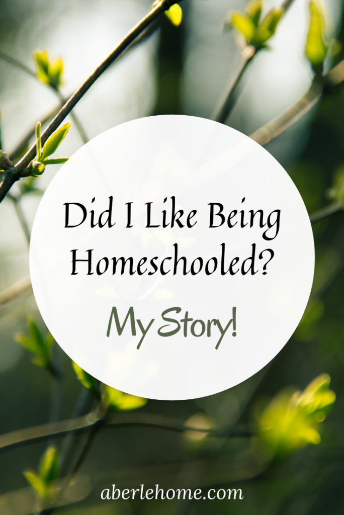 did I like being homeschooled as a child pin image