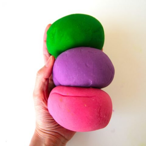 our favorite play dough recipe