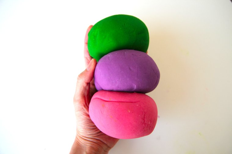 our favorite play dough recipe