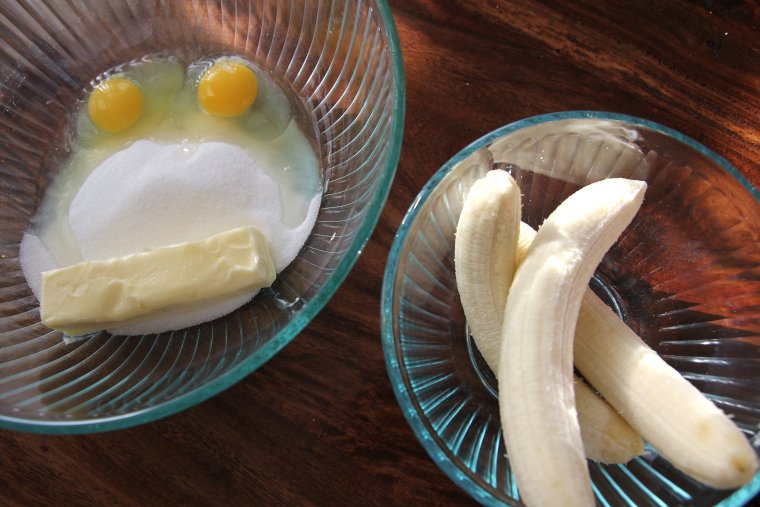 banana muffin ingredients