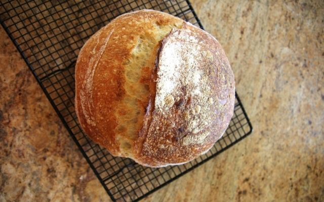 Long-Fermented Artisan Sourdough Bread