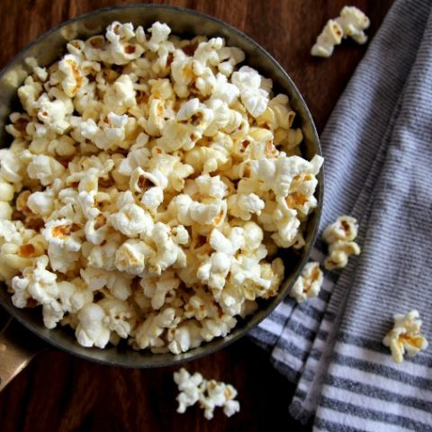how to make old-fashioned kettle corn