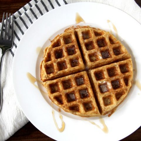rustic multigrain waffles