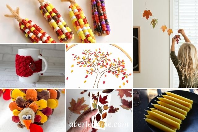 20 FAVORITE FALL CRAFTS FOR YOUR HOMESCHOOL